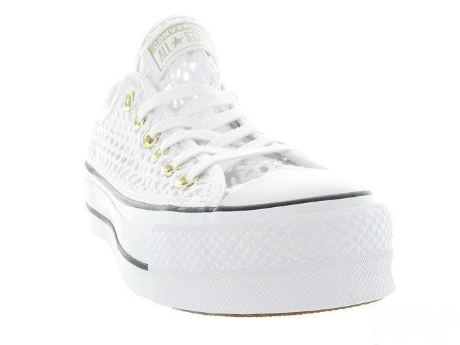 Converse baskets et sneakers ctas lift crochet blanc4464701_3