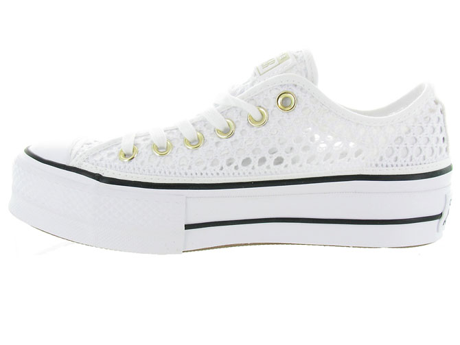 Converse baskets et sneakers ctas lift crochet blanc4464701_4