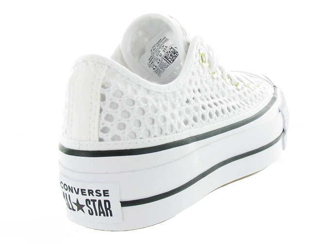 Converse baskets et sneakers ctas lift crochet blanc4464701_5
