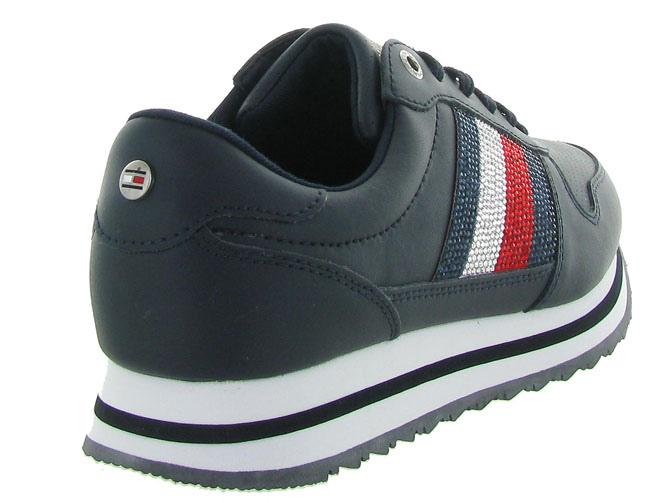 Tommy hilfiger baskets et sneakers tommy retro crystal marine4469201_5
