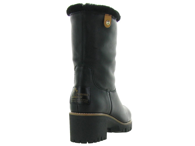 Panama jack apres ski bottes fourrees piola igloo travelling noir4499401_5