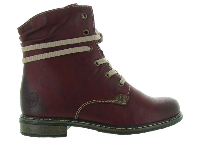 Rieker bottines et boots 71229 bordeaux4501201_2
