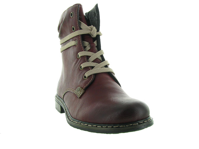 Rieker bottines et boots 71229 bordeaux4501201_3