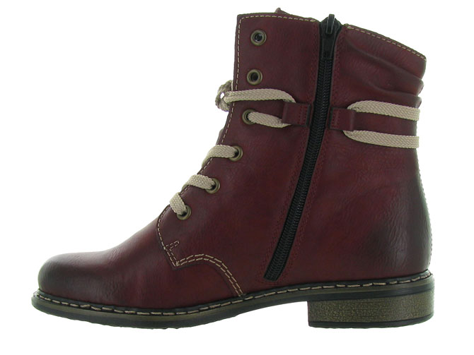 Rieker bottines et boots 71229 bordeaux4501201_4