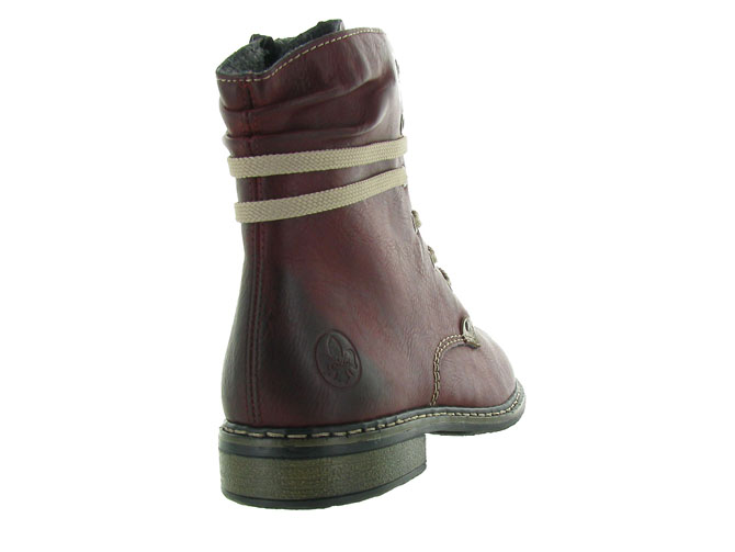 Rieker bottines et boots 71229 bordeaux4501201_5