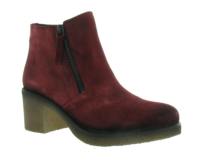 Pinto di blu bottines et boots 80960 bordeaux