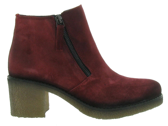 Pinto di blu bottines et boots 80960 bordeaux4512801_2