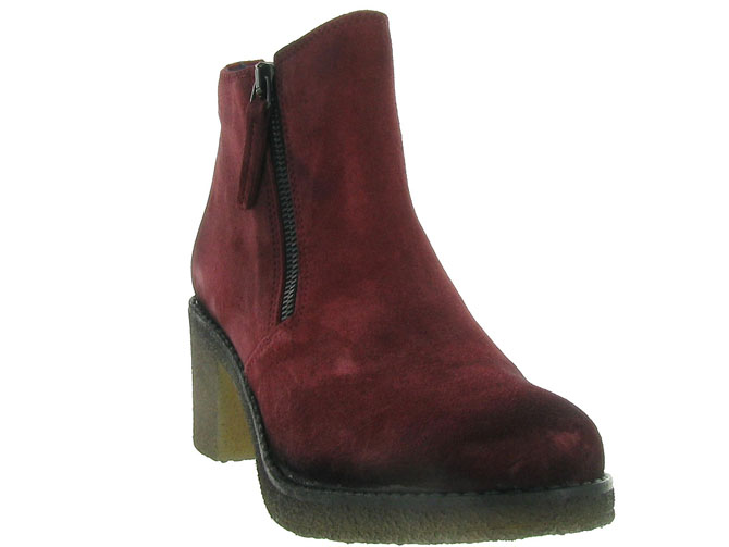 Pinto di blu bottines et boots 80960 bordeaux4512801_3