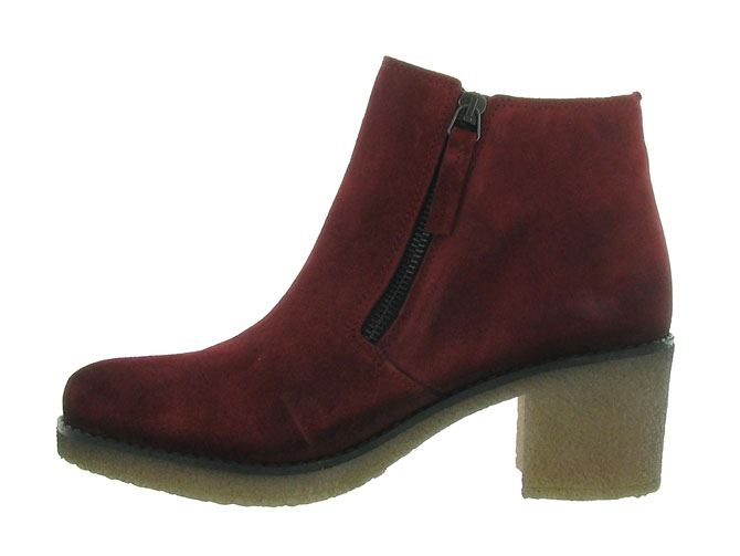Pinto di blu bottines et boots 80960 bordeaux4512801_4