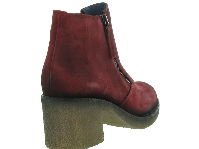 Pinto di blu bottines et boots 80960 bordeaux4512801_5