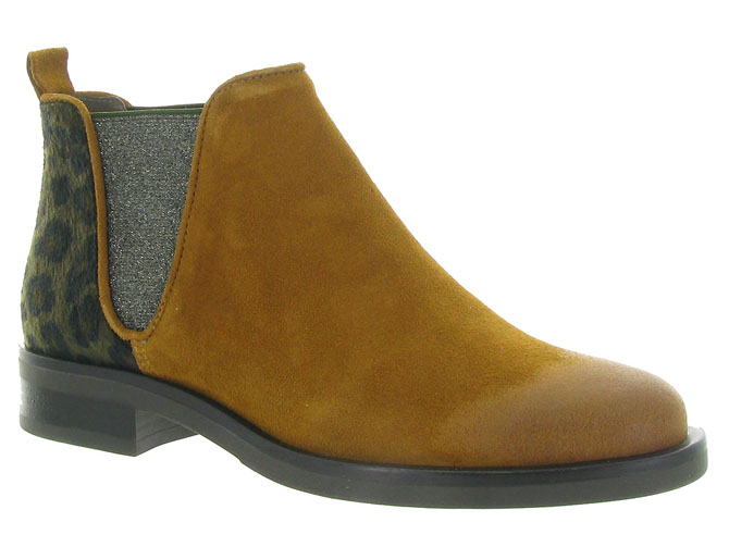Minka design bottines et boots madison jaune