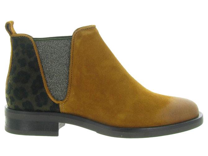 Minka design bottines et boots madison jaune4516501_2