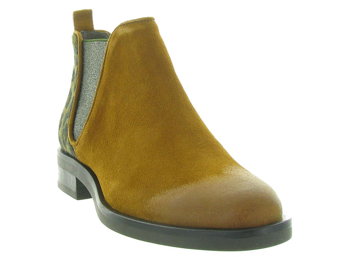 Minka design bottines et boots madison jaune4516501_3