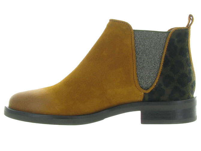 Minka design bottines et boots madison jaune4516501_4