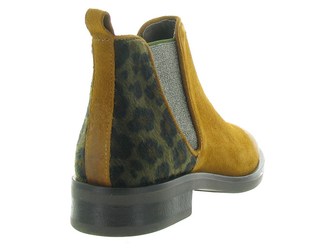 Minka design bottines et boots madison jaune4516501_5