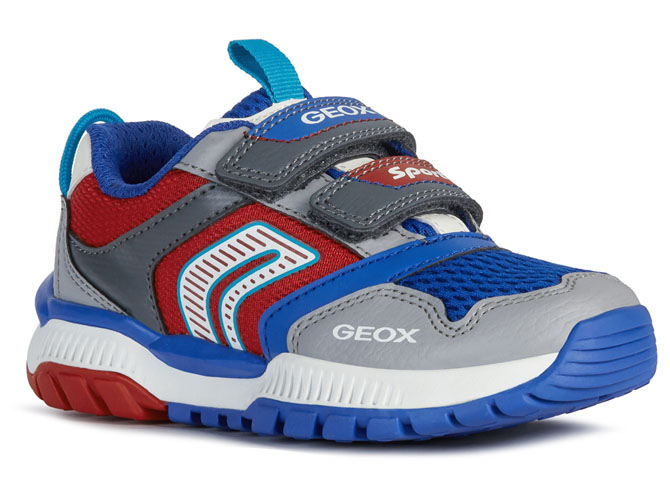 Geox baskets et sneakers j02axa tuono boy rouge
