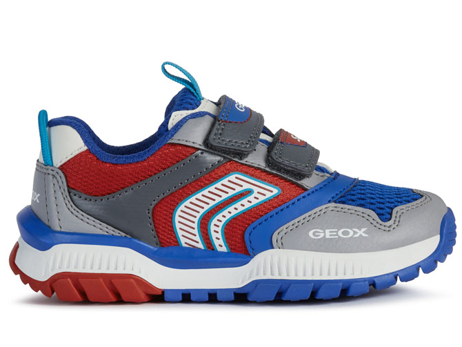 Geox baskets et sneakers j02axa tuono boy rouge4535302_2