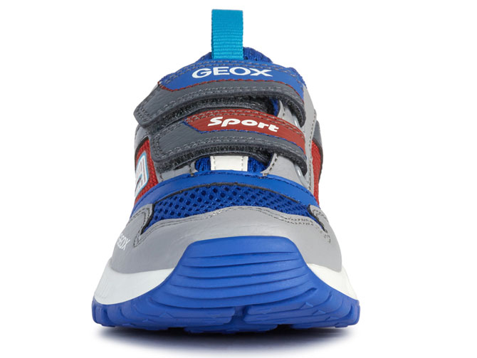 Geox baskets et sneakers j02axa tuono boy rouge4535302_3