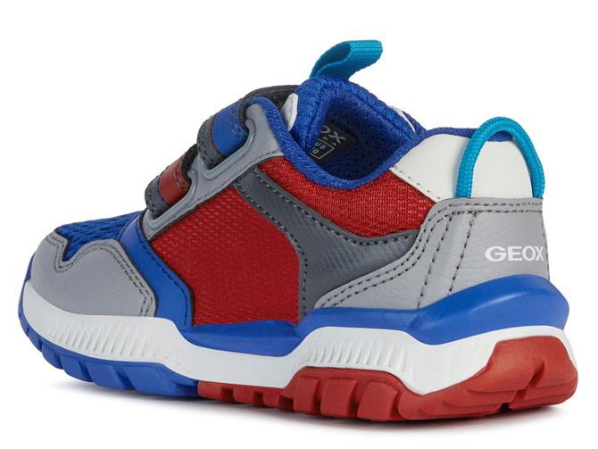Geox baskets et sneakers j02axa tuono boy rouge4535302_4