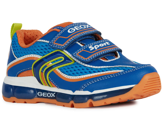 Geox baskets et sneakers j0244c android light bleu royal