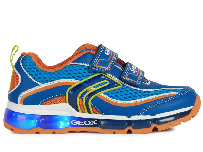 Geox baskets et sneakers j0244c android light bleu royal4535402_2