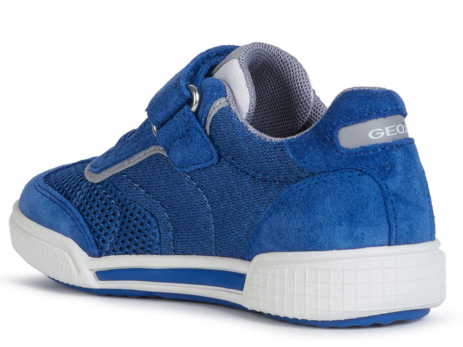 Geox baskets et sneakers j02bcd poseido bleu royal4536202_4
