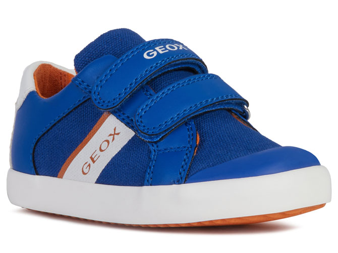 Geox baskets et sneakers b021nb gisli sp bleu royal