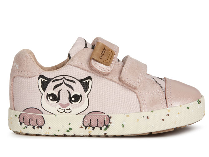 Geox baskets et sneakers b02d5h kilwi rose4539501_2