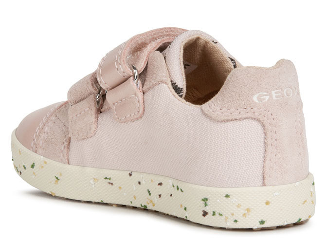 Geox baskets et sneakers b02d5h kilwi rose4539501_4