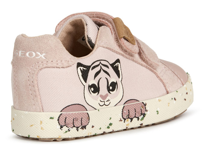 Geox baskets et sneakers b02d5h kilwi rose4539501_5
