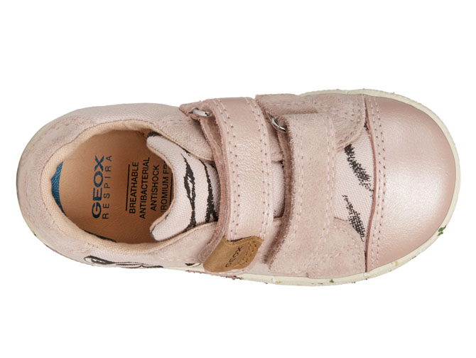 Geox baskets et sneakers b02d5h kilwi rose4539501_6