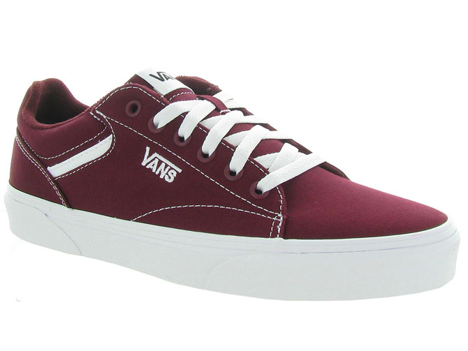 Vans baskets et sneakers seldan men bordeaux