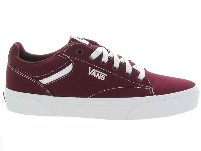 Vans baskets et sneakers seldan men bordeaux4543402_2