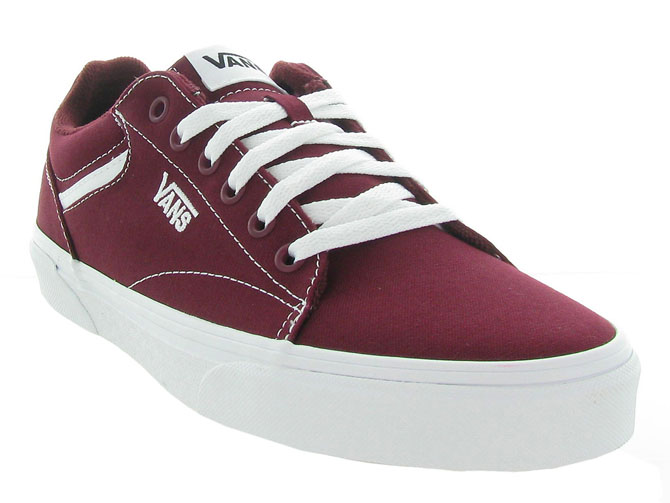 Vans baskets et sneakers seldan men bordeaux4543402_3