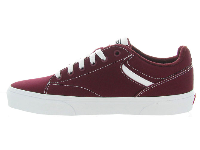 Vans baskets et sneakers seldan men bordeaux4543402_4