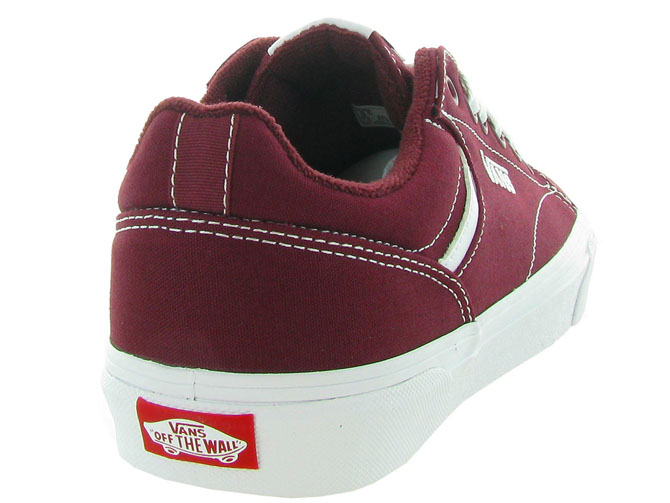 Vans baskets et sneakers seldan men bordeaux4543402_5