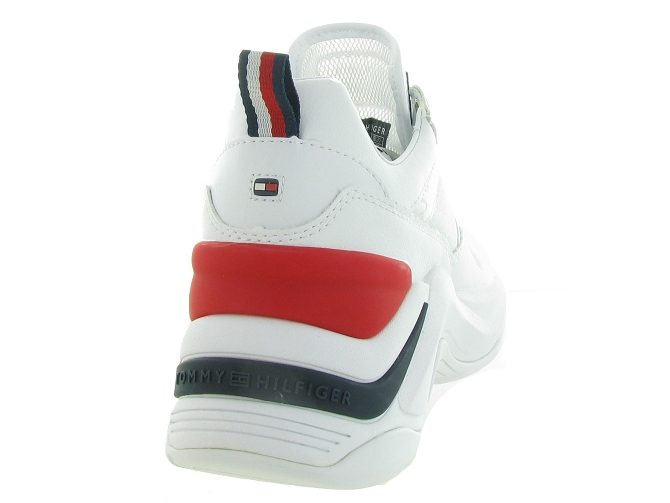 Tommy hilfiger baskets et sneakers internal wedge sporty blanc4544901_5