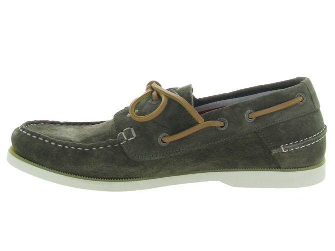 Tommy hilfiger mocassins classic suede boatshoe taupe4546001_4