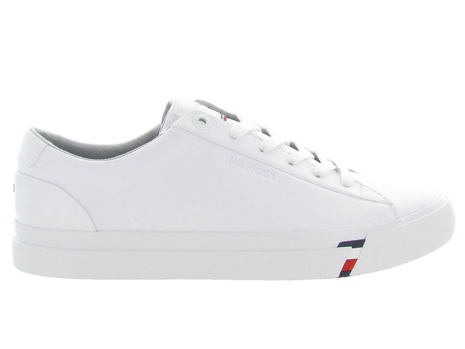 Tommy hilfiger baskets et sneakers corporate leather snk blanc4546501_2