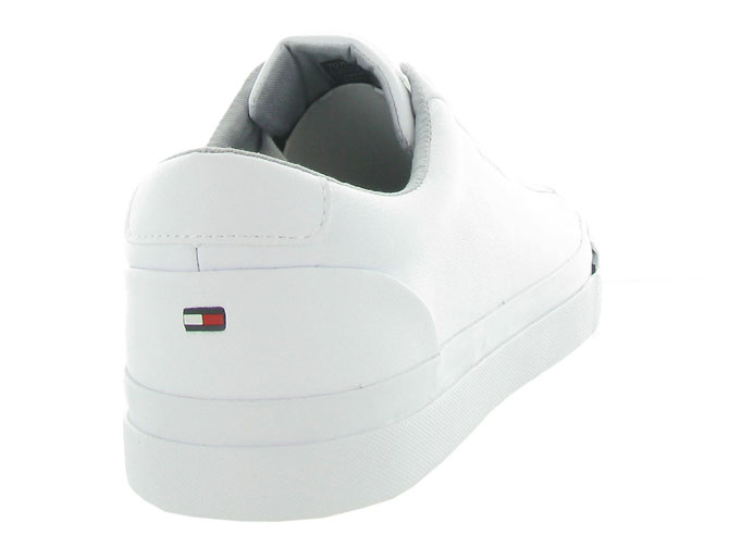 Tommy hilfiger baskets et sneakers corporate leather snk blanc4546501_5