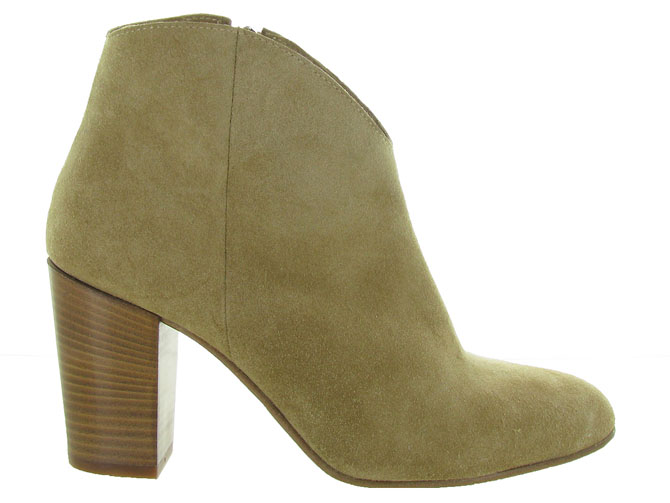 Julie dee bottines et boots ptr402 leda beige4557603_2