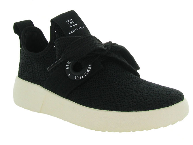 Armistice baskets et sneakers volt one noir