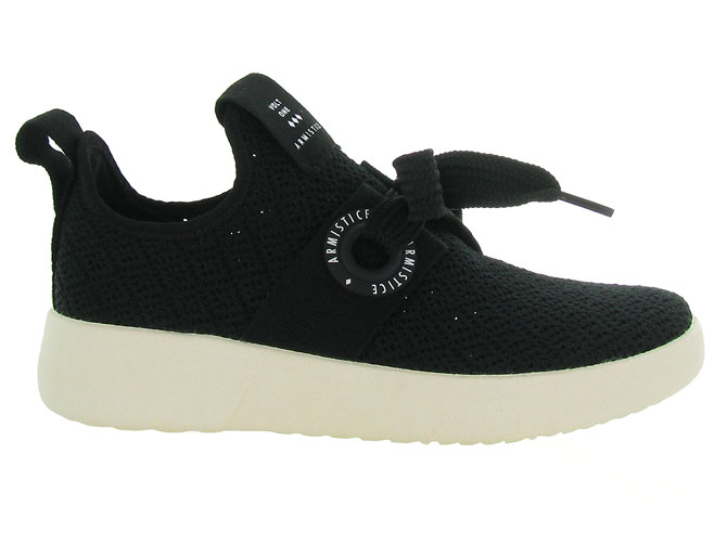 Armistice baskets et sneakers volt one noir4561301_2