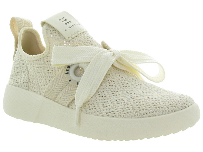 Armistice baskets et sneakers volt one ecru