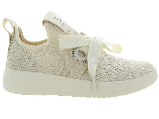 Armistice baskets et sneakers volt one ecru4561302_2