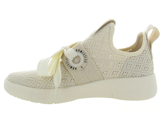 Armistice baskets et sneakers volt one ecru4561302_4