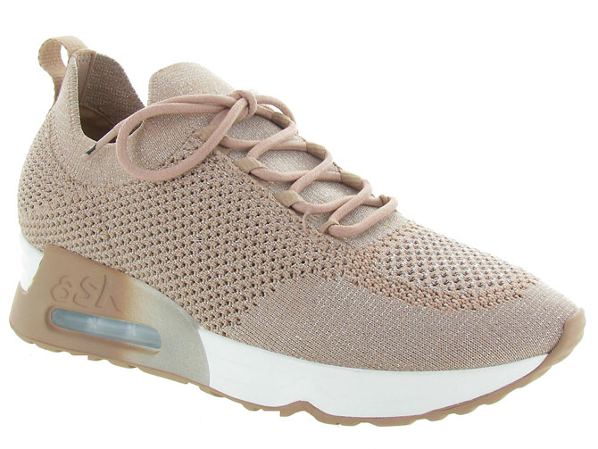 Ash italia baskets et sneakers lunatic rose pale