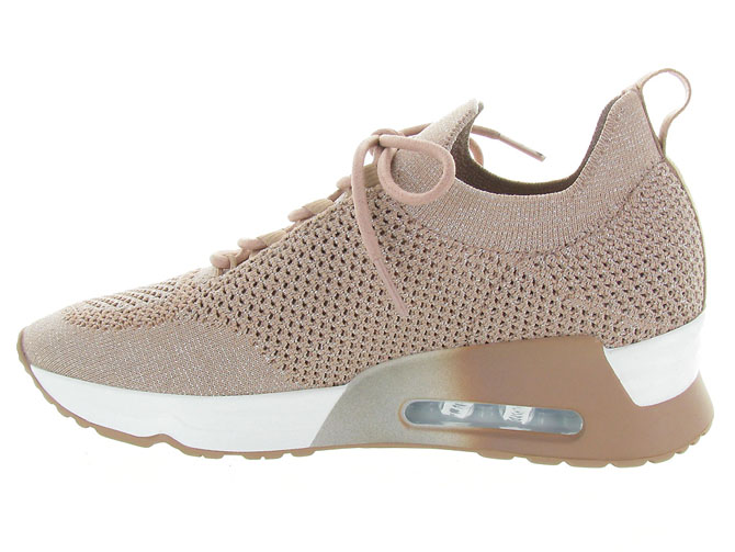 Ash italia baskets et sneakers lunatic rose pale4575802_4