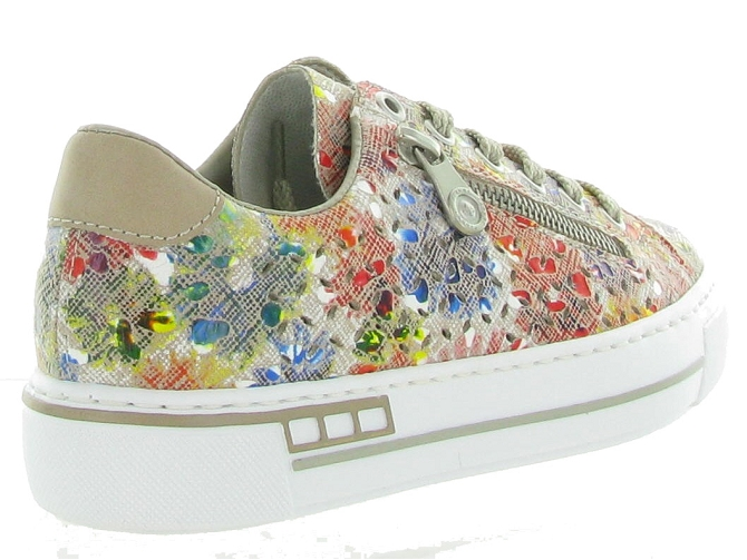 Rieker baskets et sneakers l8837 tricolore4578501_5