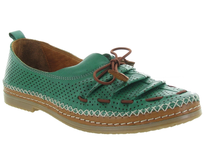 Baboos chaussures a lacets 155704 vert